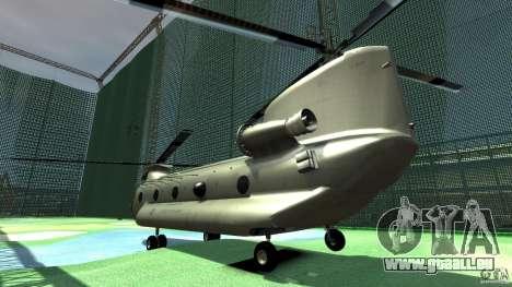 CH-47 für GTA 4 rechte Ansicht