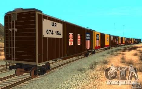 Union Pacific Reefer pour GTA San Andreas vue de droite