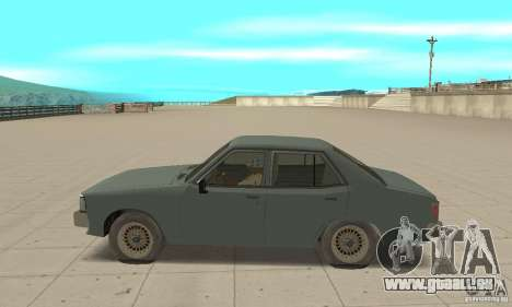 Mitsubishi Galant Sigma 1980 pour GTA San Andreas laissé vue