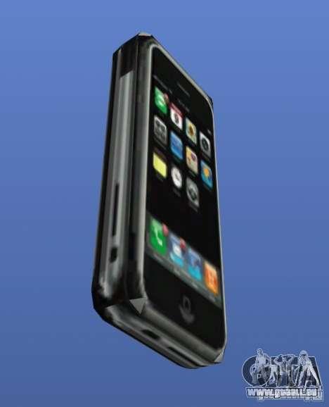 IPhone pour GTA 4 troisième écran