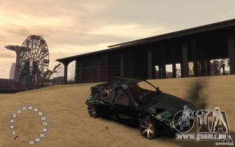 VAZ 21099 Duplet für GTA 4 Unteransicht
