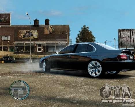 BMW 530I E39 [Final] pour GTA 4 est un droit