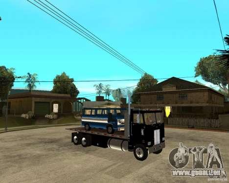 Peterbilt für GTA San Andreas rechten Ansicht