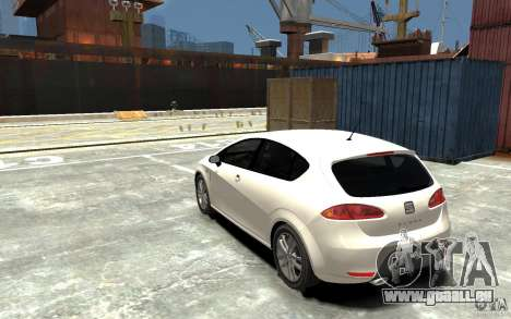 Seat Leon Cupra v.2 für GTA 4 hinten links Ansicht