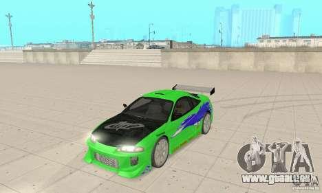 Mitsubishi Eclipse FnF für GTA San Andreas
