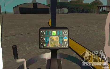 Dragonfly - Land Version pour GTA San Andreas vue arrière