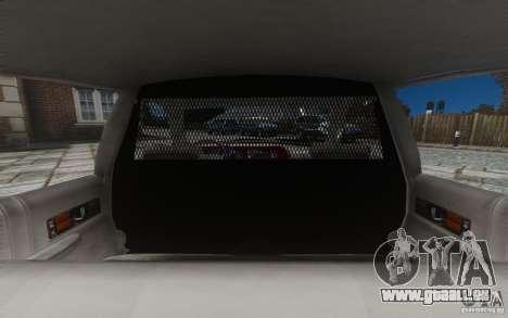 Chevrolet Caprice 1991 Police für GTA 4 Räder