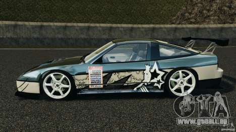 Nissan 240SX Time Attack für GTA 4 linke Ansicht
