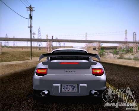 Porsche 911 GT2 RS 2012 pour GTA San Andreas sur la vue arrière gauche