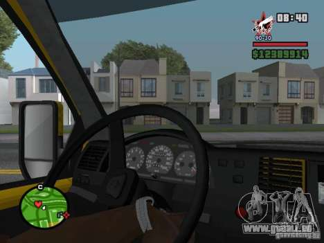 Aktives dashboard für GTA San Andreas zweiten Screenshot
