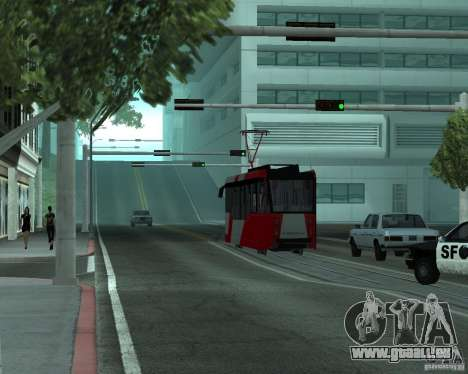 LM-2008 für GTA San Andreas Rückansicht