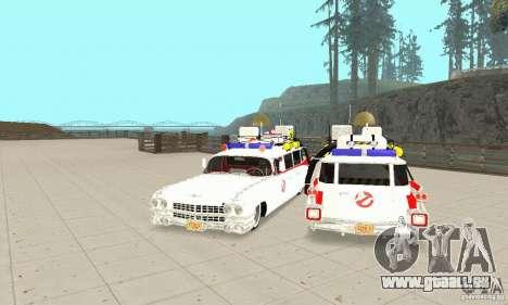 Ghostbusters ECTO 1 pour GTA San Andreas vue arrière