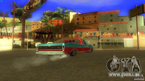 Ford F1000 Bicho pour GTA San Andreas laissé vue