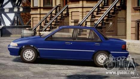 Mercury Tracer 1993 v1.0 pour GTA 4 est une gauche