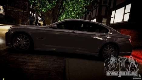 BMW 750Li Sedan ASANTI für GTA 4-Motor