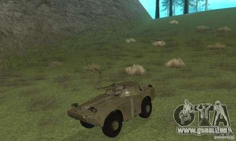 BRDM-1 Skin 2 für GTA San Andreas linke Ansicht