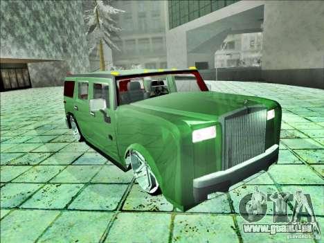 Hummer H2 Phantom pour GTA San Andreas