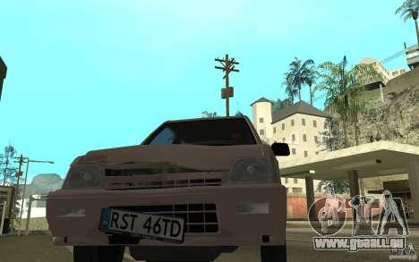 Daewoo Tico SX für GTA San Andreas obere Ansicht