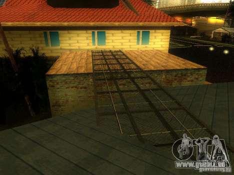 Basis der Grove Street für GTA San Andreas fünften Screenshot