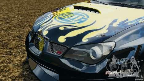 Subaru Impreza WRX STI N12 pour GTA 4 est un côté