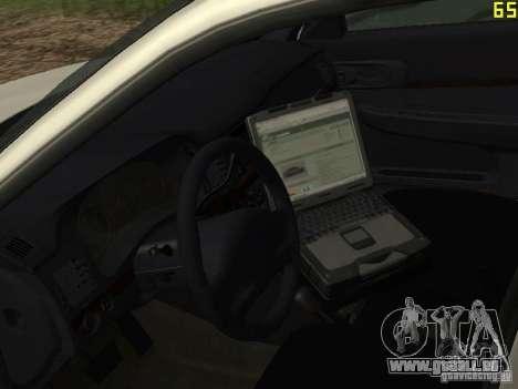 Police de GTA 4 pour GTA San Andreas vue arrière