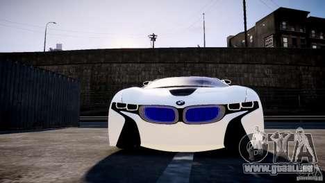 BMW Vision Efficient Dynamics 2012 pour GTA 4 Vue arrière