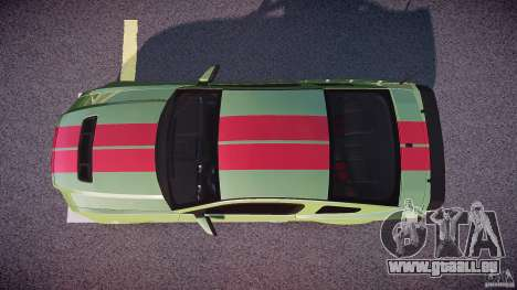 Ford Mustang Shelby GT500 2010 (Final) pour GTA 4 est un droit