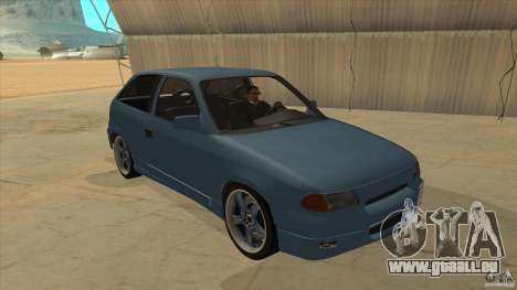Opel Astra F Tuning pour GTA San Andreas vue arrière