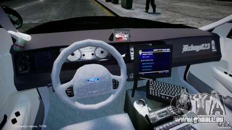 Ford Crown Victoria Massachusetts Police [ELS] für GTA 4 rechte Ansicht