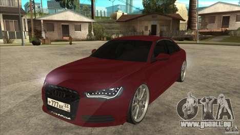 Audi A6 (C7) für GTA San Andreas
