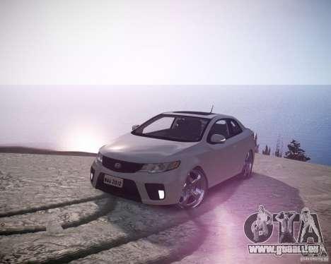 Kia Cerato Koup 2011 pour GTA 4