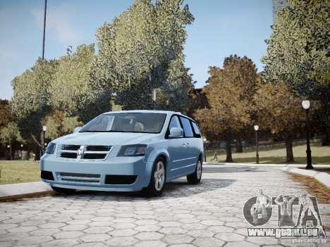 Dodge Grand Caravan SXT 2008 für GTA 4 obere Ansicht