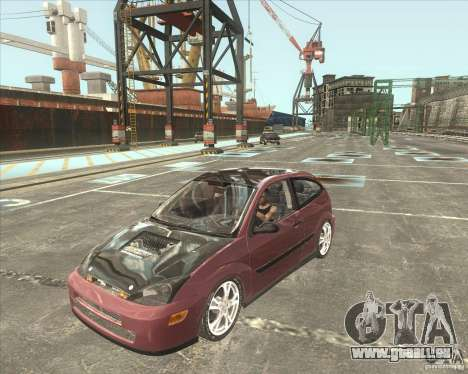 Ford Focus SVT pour GTA San Andreas