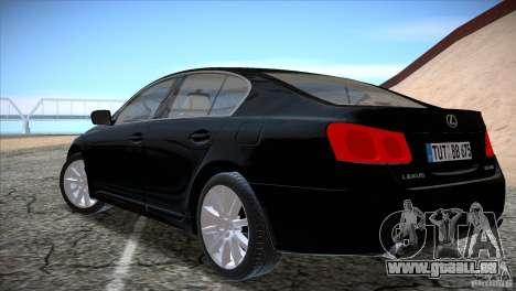 Lexus GS430 für GTA San Andreas rechten Ansicht