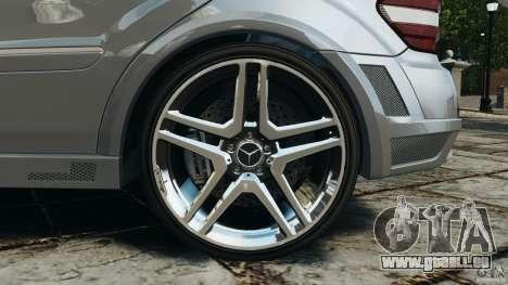 Mercedes-Benz ML63 AMG Brabus pour GTA 4 est une vue de dessous
