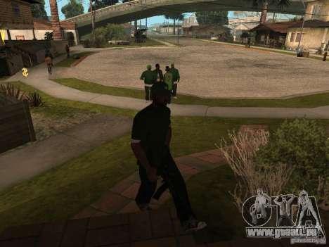 Die Möglichkeit zum Aufruf einer Suite für GTA San Andreas zweiten Screenshot