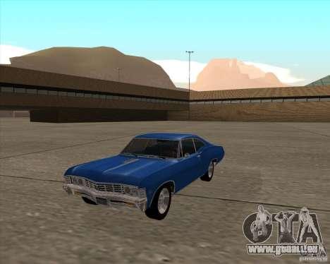 Chevrolet Impala 427 SS 1967 pour GTA San Andreas vue de droite