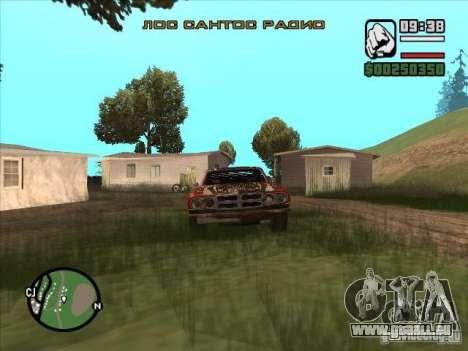 FlatOut bullet pour GTA San Andreas sur la vue arrière gauche