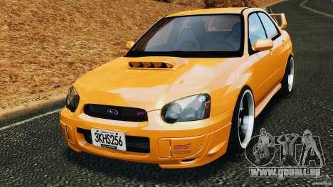 Subaru Impreza WRX STI 2005 pour GTA 4
