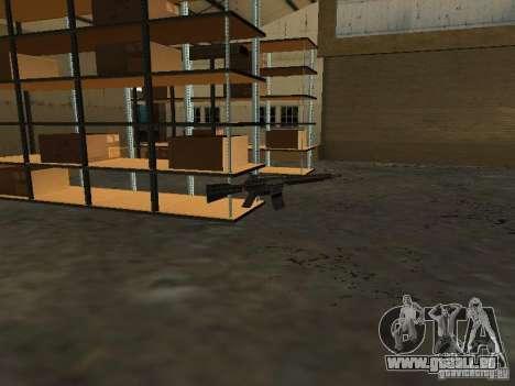 Renouvellement de la base militaire sur les quai pour GTA San Andreas troisième écran