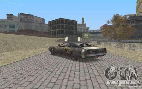 Malice from FlatOut2 für GTA San Andreas Rückansicht