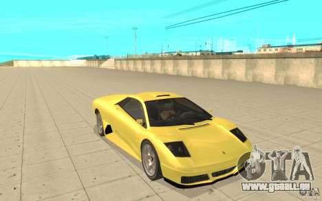Infernus de GTA 4 pour GTA San Andreas