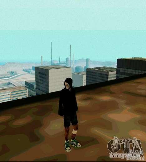New Skin für GTA San Andreas