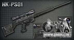 [Point Blank] PSG1 für GTA San Andreas