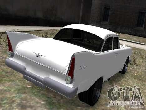 Plymouth Savoy 57 pour GTA 4 Vue arrière de la gauche