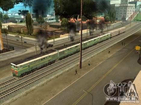 4TÈ10S-0013 pour GTA San Andreas sur la vue arrière gauche