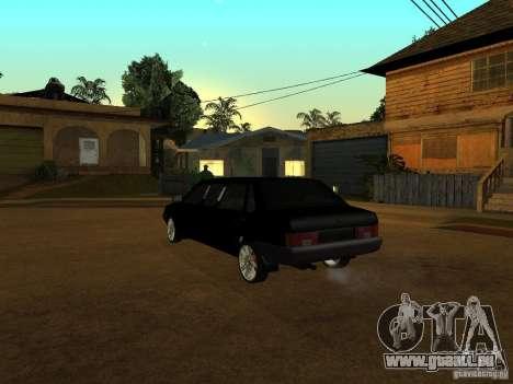 VAZ 21099 Limousine pour GTA San Andreas vue arrière
