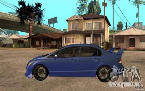 Honda Civic Mugen v1 pour GTA San Andreas laissé vue
