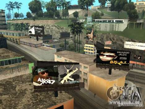 Rep trimestre v1 pour GTA San Andreas huitième écran