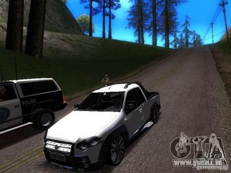 Fiat Strada pour GTA San Andreas